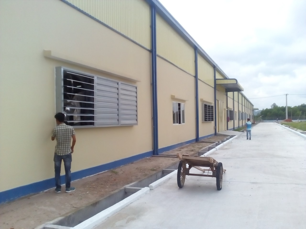 Lắp đặt hệ thống làm mát cho nhà máy Rio Hàn Quốc