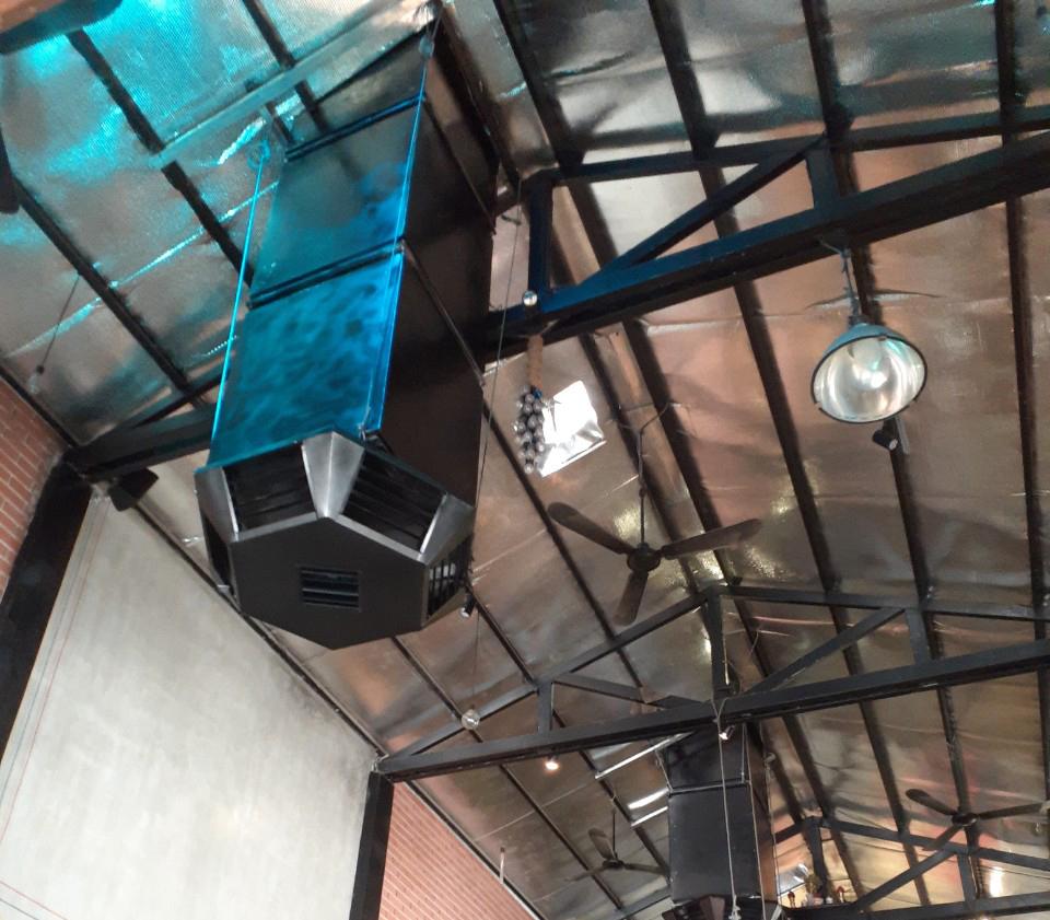 Lắp hệ thông làm mát cho quán cafe hicoffee