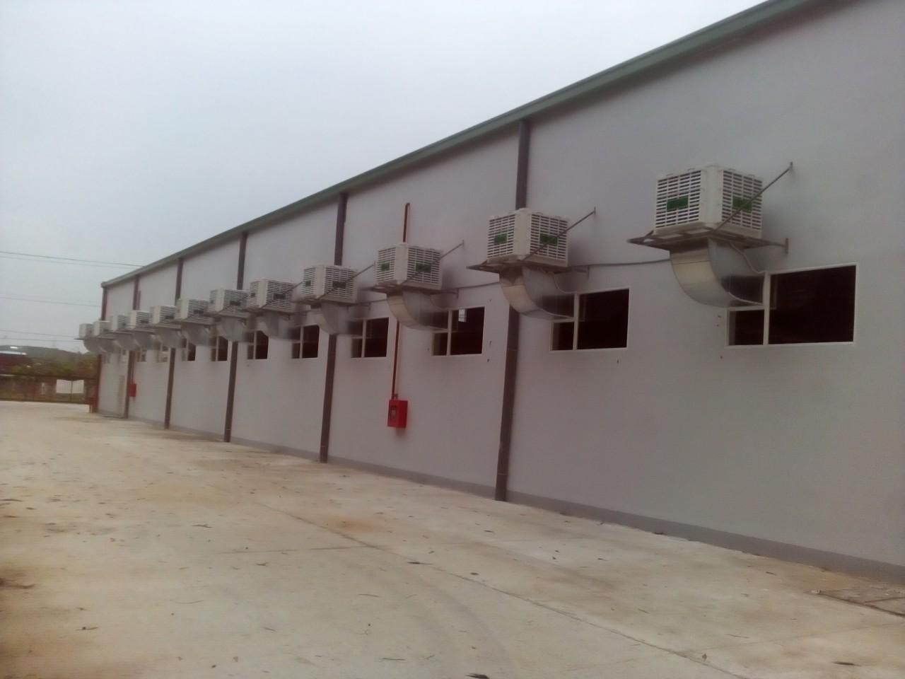 Hệ thống làm mát cho Công Ty TNHH Mtv Max Packaging Việt Nam