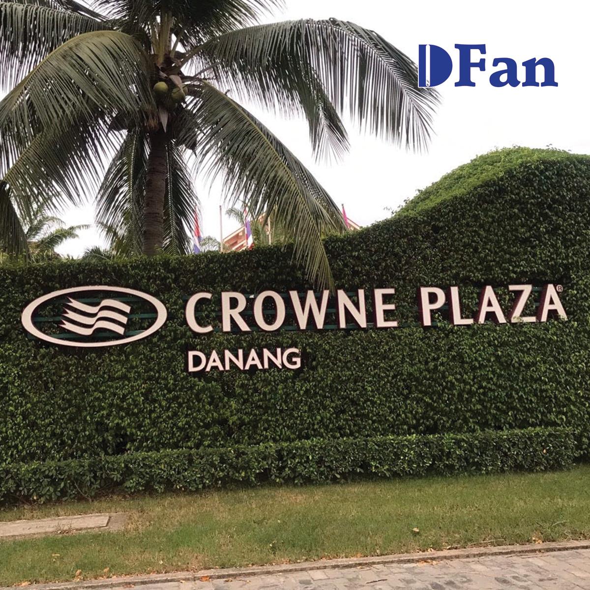 Lắp đặt hệ thống thông gió cho Khu nghỉ mát Crowne Plaza Đà Nẵng